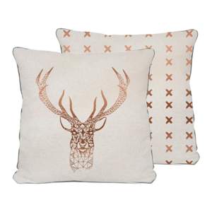 Obojstranná obliečka na vankúš Really Nice Things Deer, 45 × 45 cm
