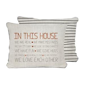 Obojstranná obliečka na vankúš Really Nice Things House, 45×45 cm
