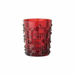 Červený pohár z krištáľového skla Nachtmann Punk, 348 ml