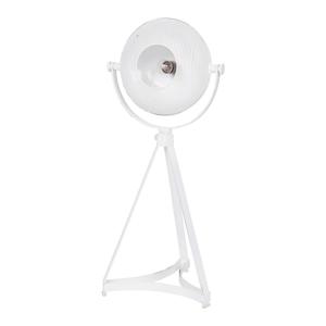 Biela stolová lampa BePureHome Blown