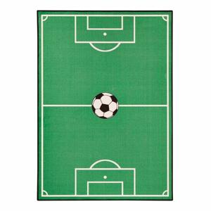 Detský zelený koberec Zala Living Football, 200×290 cm