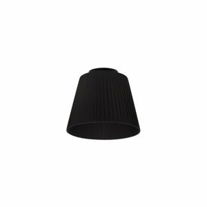 Čierne stropné svietidlo Sotto Luce KAMI, Ø24 cm