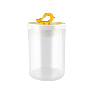 Žltá dóza Vialli Design Livio, 800 ml