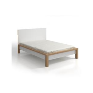Dvojlôžková posteľ z borovicového dreva SKANDICA InBig, 140×200cm
