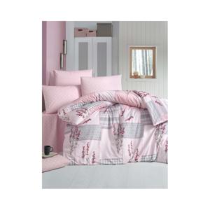 Bavlnené obliečky s plachtou a 2 obliečky na vankúše Powcak, 200×220 cm