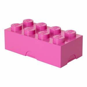 Ružový desiatový box LEGO®