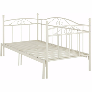 Biela rozkladacia posteľ Støraa Bibi, 90×200cm