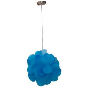 Modré závesné svietidlo Mauro Ferretti Ball