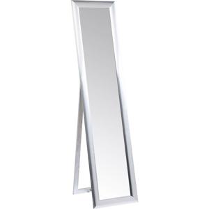 Voľne stojacie zrkadlo v striebornej farbe Kare Design Modern Living, výška 170cm