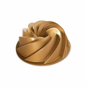 Forma na bábovku v zlatej farbe Nordic Ware Rondo Heritage, 2,4 l