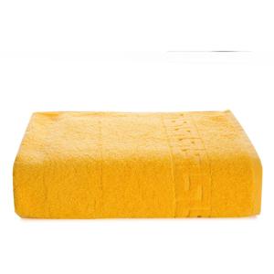 Žltý bavlnený uterák Kate Louise Pauline, 30 x 50 cm