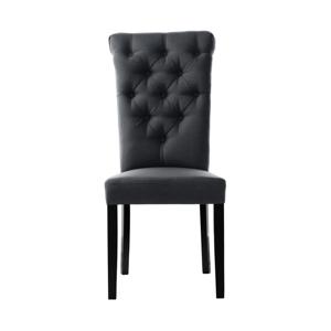 Antracitovosivá stolička L'Officiel Taylor