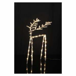 Svietiaca LED dekorácia Star Trading Icy Deer, 40 cm