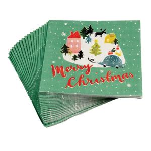 Sada 20 vianočných obrúskov Rex London Christmas Wonderland