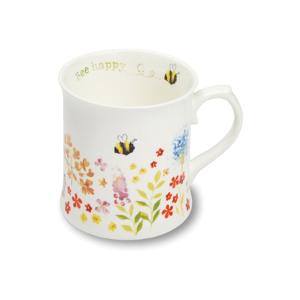Porcelánový hrnček Cooksmart ® Flowers, 440ml