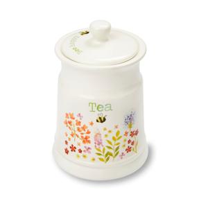 Keramická dóza na čaj Cooksmart ® Flowers