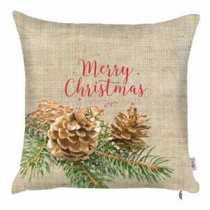 Vianočná obliečka na vankúš Apolena Honey, 43×43 cm