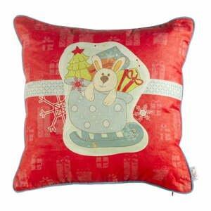 Vianočná obliečka na vankúš Apolena Comfort Gifts, 43×43 cm