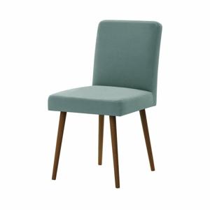 Mentolovozelená stolička s tmavohnedými nohami Ted Lapidus Maison Fragrance