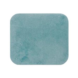 Modrá kúpeľňová predložka Confetti Miami, 50×57 cm