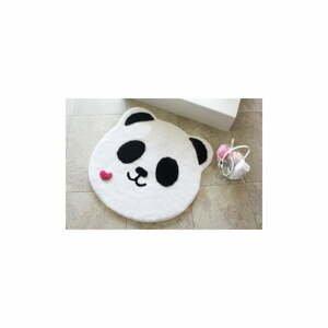 Kúpeľňová predložka s motívom pandy Panda Shape, Ø90cm