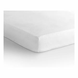 Biela elastická plachta Sleeptime Molton,180x200/220cm