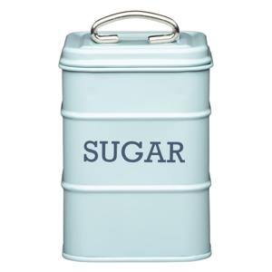 Modrá plechová dóza na cukor Kitchen Craft Nostalgia