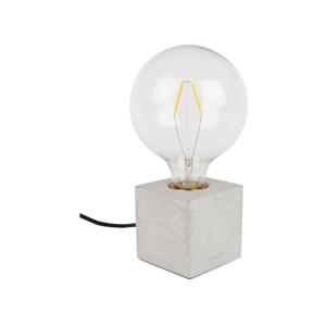 Sivá stolová lampa Zuiver Bolch