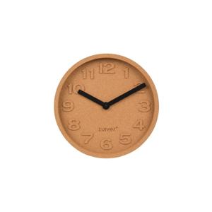 Korkové nástenné hodiny Zuiver Cork, ø31cm