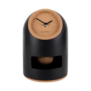 Čierne stolové hodiny Zuiver Uno