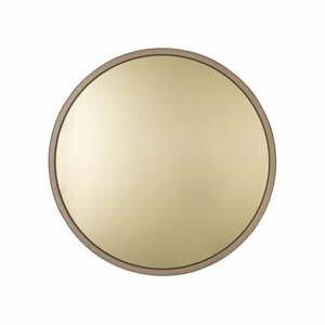 Nástenné zrkadlo v zlatej farbe Zuiver Bandit, ø60cm