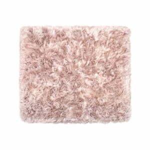 Béžový koberec z ovčej kožušiny Royal Dream Zealand, 130×150 cm