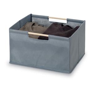 Sivý úložný box Bonita Basket, malý