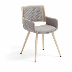 Sivá stolička La Forma Andre