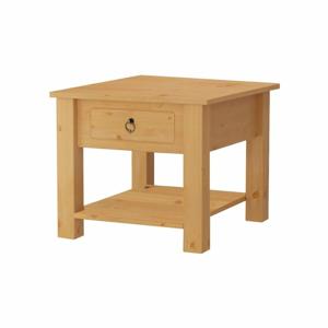 Prírodné konferenčný stolík z borovicového dreva Støraa Klein