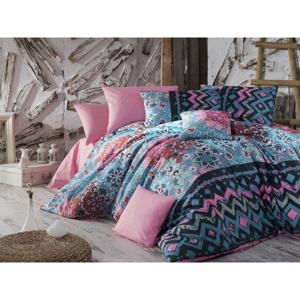 Obliečky s plachtou na dvojlôžko Nazenin Home Cornelia, 200×220 cm