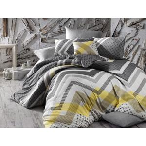 Obliečky s plachtou na dvojlôžko Nazenin Home Lorela, 200×220 cm