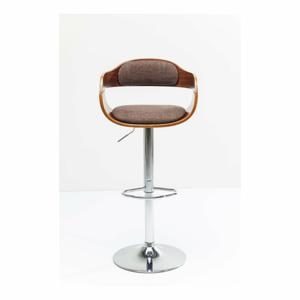 Hnedá barová stolička Kare Design Monaco Schoko