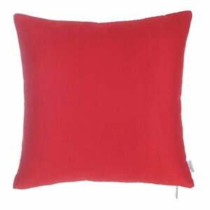 Červená obliečka na vankúš Apolena Simple, 43×43 cm