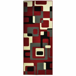 Červený koberec Hanse Home Hamla Retro, 200×290cm
