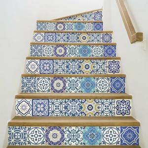 Sada 2 samolepiek na schody Ambiance Romina, 15×105 cm