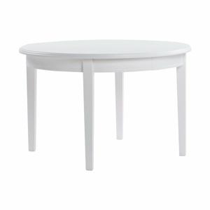 Biely oválny jedálenský stôl Rowico Kossa