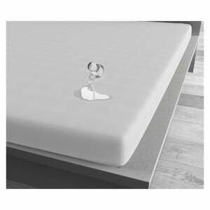 Biela vodoodolná plachta Sleeptime, 160 x 220 cm