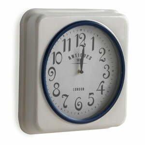 Biele nástenné hodiny Geese London