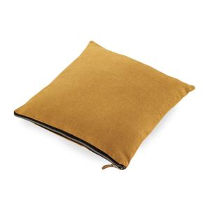 Okrovožltý vankúš Geeso Soft, 45×45 cm