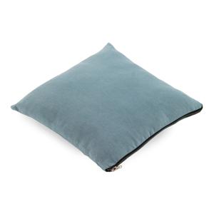 Svetlomodrý vankúš Geeso Soft, 45×45 cm