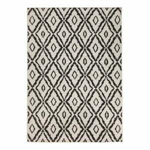 Hnedo-biely vonkajší koberec Bougari Rio, 80 x 150 cm