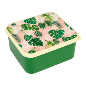 Desiatový box Rex London Tropical Palm, 13,5 × 15 cm