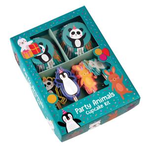 Set na zdobenie cupcakov Rex London Party Animals