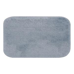 Modrá kúpeľňová predložka Confetti Miami, 100×160cm